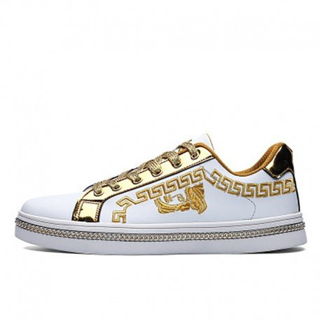 CASUALA GOLD SERIE F20217 (Luxury Designer Shoe)