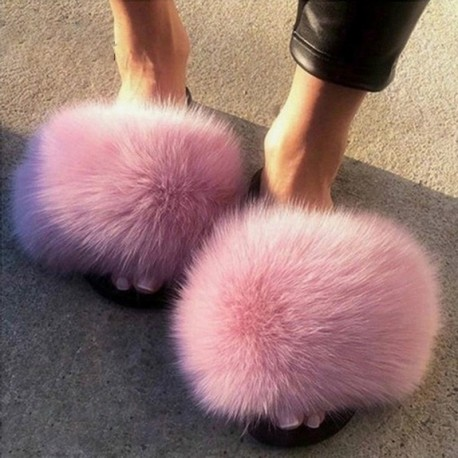 FAUX FUR Serie 15 F20182 ( Fluffy Slippers Collection )