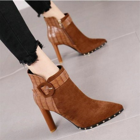 POINTED BOOT F20414 ( Woman Fashion Boot )