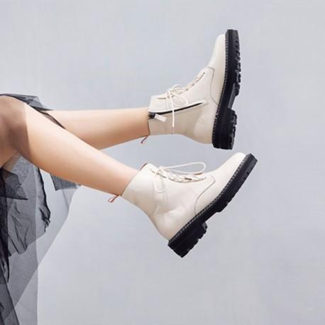 New AIYUQI Leather Boots F2085