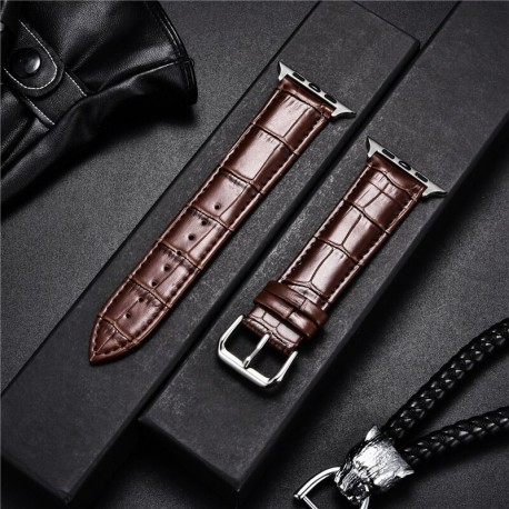 Leather Watchband for Apple iWatch 6 5 4 SE /