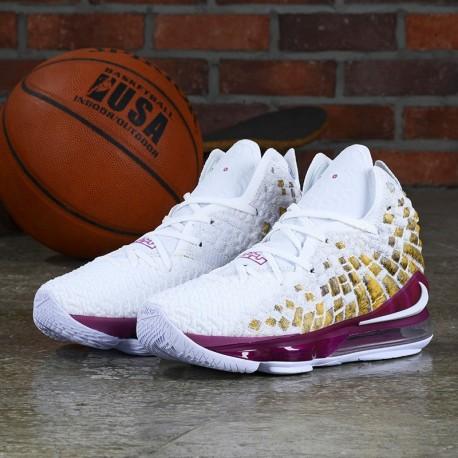 Nike James Lebron 17 LBJ17 F20421 ( Air fashion Basketball High Top Sneakers )