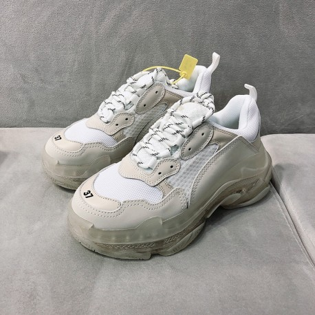 BALENCIATA Clear Transparent edition F20337 ( 100% Leather )