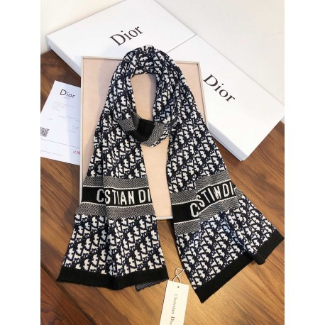 NEW DIOR F20509 ( Dior- Pure Wool Scarf for women )