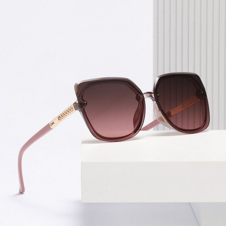 2021 NEW OVERSIZED F20507 ( Woman Luxury Sunglasses )