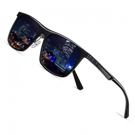 AOFLY  SQUARE F20506 ( Brand Design Polarized Sunglasses For Men )