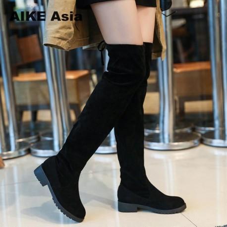 LA BOTA F20504 ( Winter High Sexy Lace Up Women's boot )