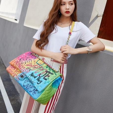 CANDALL FB20488 ( Luxury Colorful Ladies Handbag )