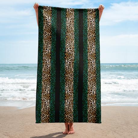 *CUSTOM* Jaguar Beach Towel