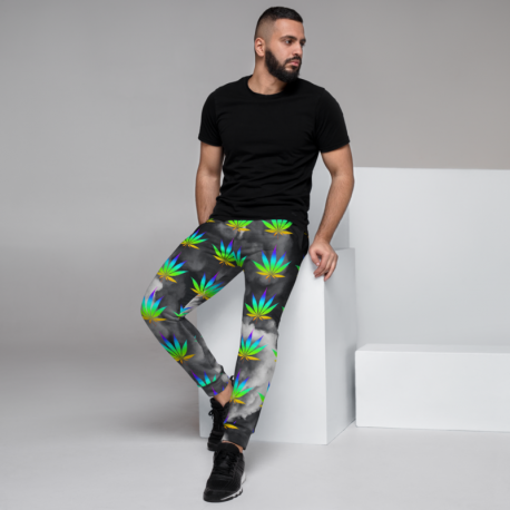 *CUSTOM* Unisex Original Rainbow Cannabis Marijuana Pants