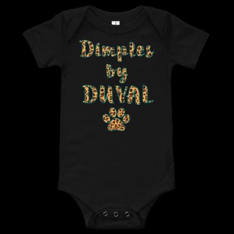 *CUSTOM* Duval Jaguar Dimples Front Snap Onesie