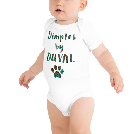 *CUSTOM* Vibrant Dimples by Duval Front Snap Onesie