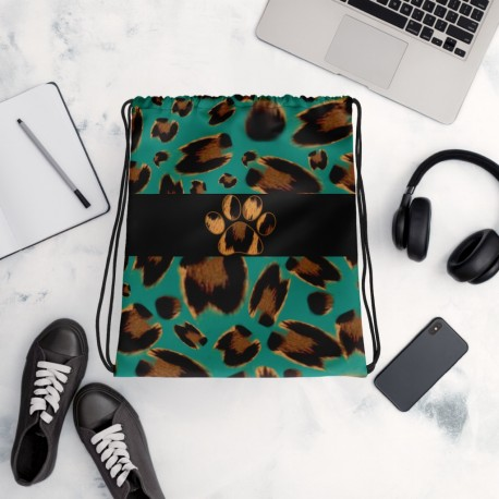 *CUSTOM* Supreme Jaguar Vibrant Drawstring Bag