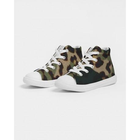 *CUSTOM* Kids Camouflage Jaguar Hightops
