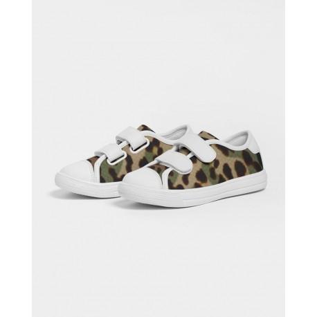 *CUSTOM* Kids Camouflage Jaguar Velcro Sneaker