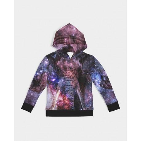 *CUSTOM* Kids Galaxy Elephant Hoodie