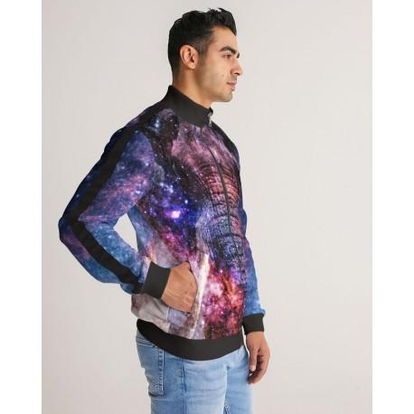 *CUSTOM* Galaxy Elephant Track Jacket