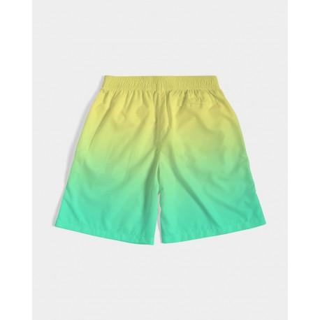 *CUSTOM* Kids lemonade Swim Trunks