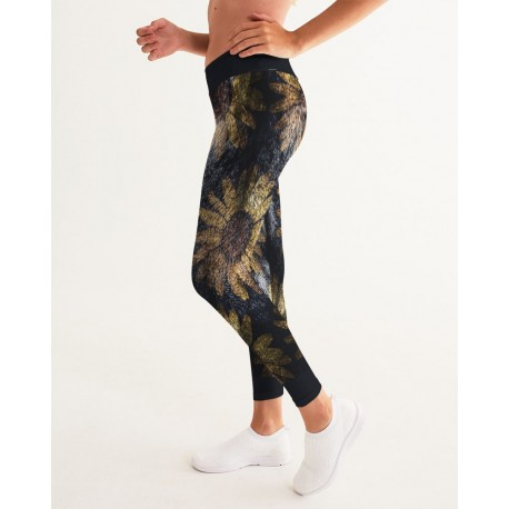 *CUSTOM* First Cat Sunflower Yoga Pants