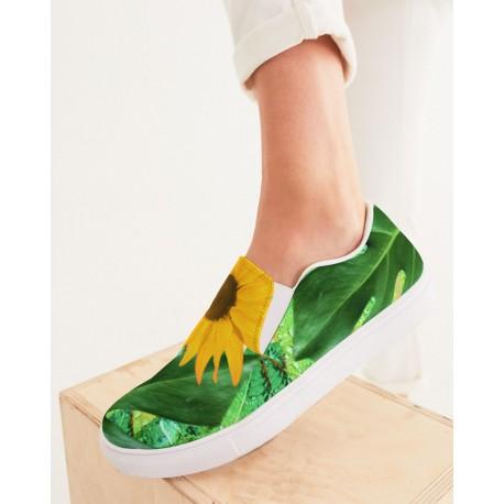*Custom* Sunflower Dew Slip On