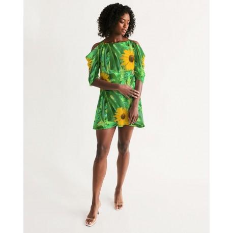 *CUSTOM* Sunflower Dew Dress