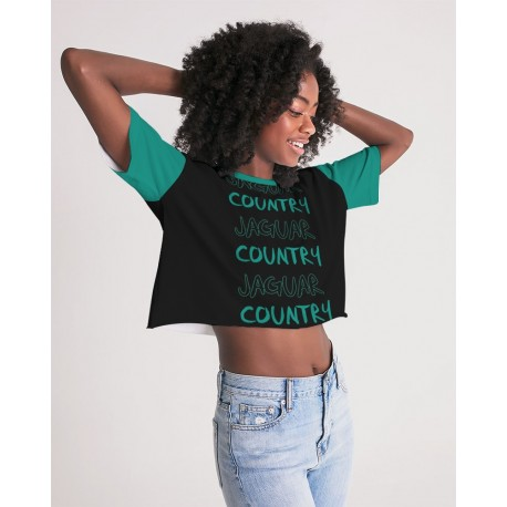 *CUSTOM* Jaguar Country Cropped Tee