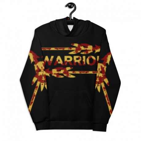 *CUSTOM* Warrior Country Hoodie (Ultra Soft Fleece Inside)