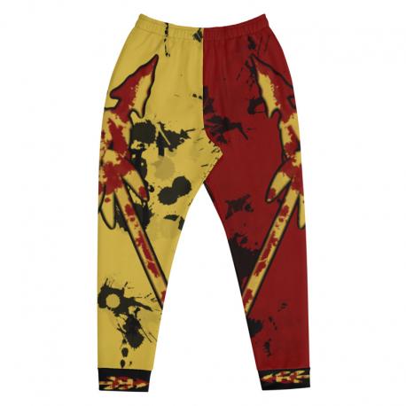 *CUSTOM* Garnet and Gold Jogger Pants (Ultra Soft Fleece Inside)