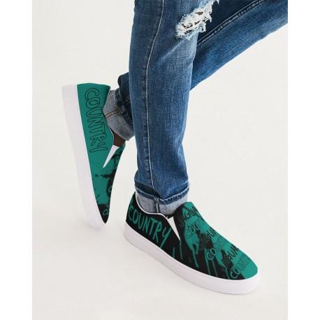 *CUSTOM*  Jaguar Country Men's Boat Shoes