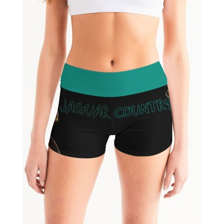 *CUSTOM* Jaguar Country Yoga Shorts
