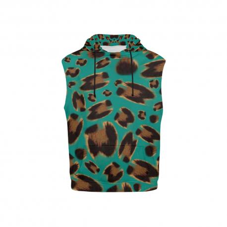 *CUSTOM* Sleeveless Jaguar Kids Hoodie