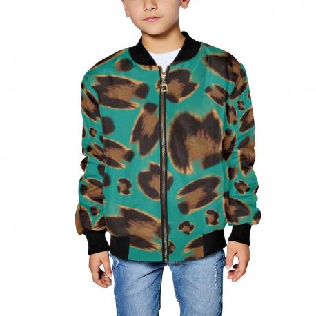 *CUSTOM* Kids Jaguar Bomber Jacket