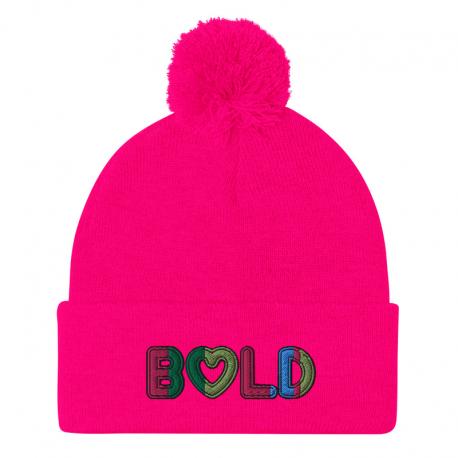 *CUSTOM* Limited Vibrant Pom Pom Knit Cap (Multiple Colors)