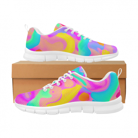 *CUSTOM* Women's Limited Sherbet Breathable Running Shoes
