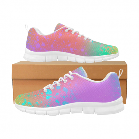 *CUSTOM* Women's Limited Neon Nights Breathable Running Shoes