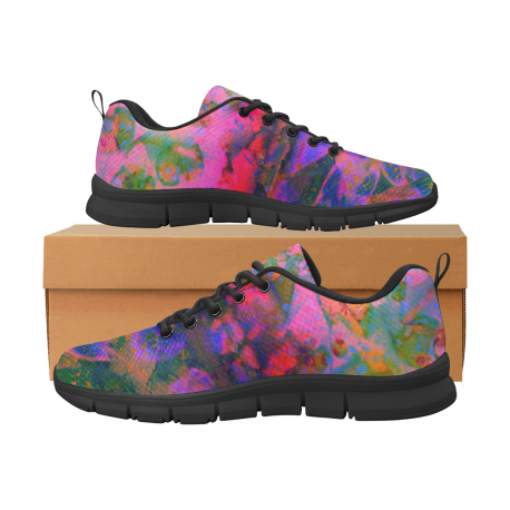 *CUSTOM* Women's Limited Get Funky Breathable Running Shoes
