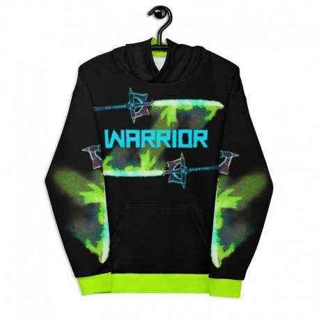 *CUSTOM* Limited Neon Green Warrior Hoodie