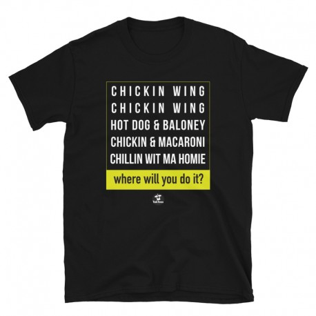 Chicken Wing Chicken Wing Block Style TokTees
