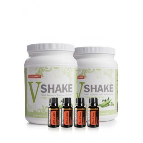 Slim & Sassy Trim Kit (2 Vegan Shakes)