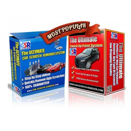 The Ultimate Car Scratch Remover in Two Versions
