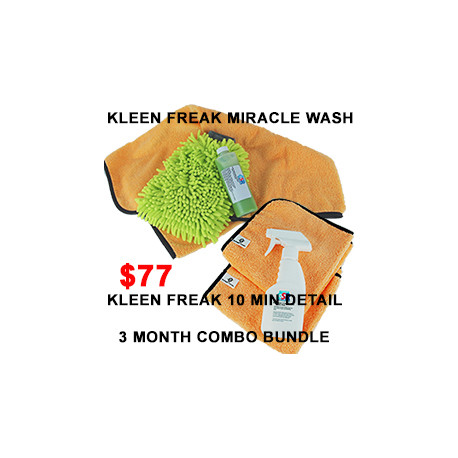 Kleen Freak Combo Bundle 3 month supply