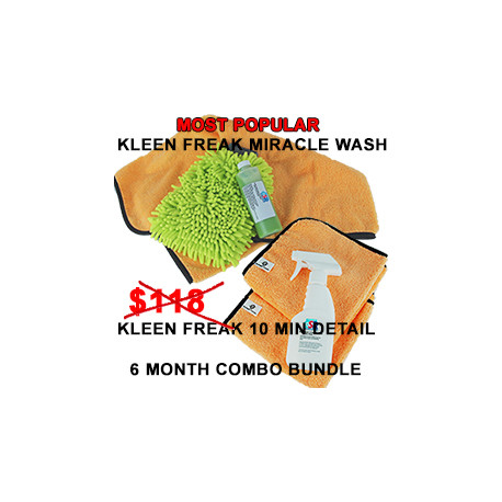 Kleen Freak Combo Bundle 6 month supply