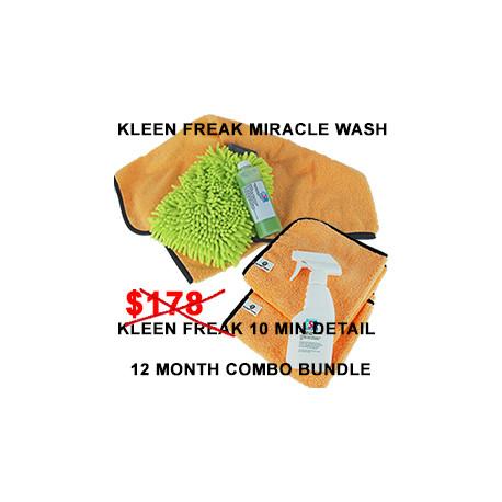 Kleen Freak Combo Bundle 12 month supply