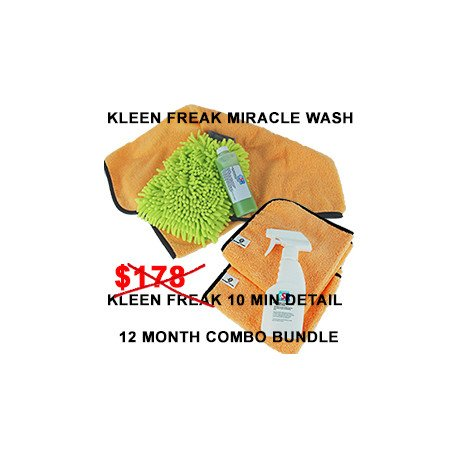 Kleen Freak Combo Bundle 12 month supply