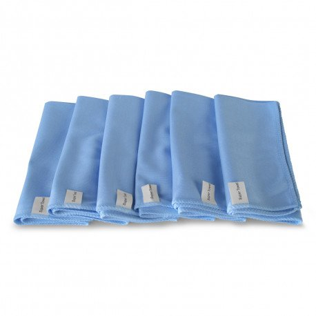 Glass Cleaning Microfiber towel 6pak