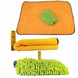 Monster Microfiber Car Wash Drying Towel / Chenille Wash Mitt