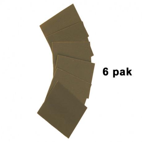 Safe-T-Sand 3000 grit sheets  (6 pak)