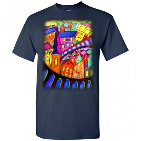 Welsh Village Design Tee