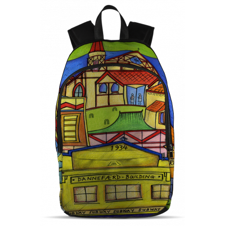 Aotearoa NZ All Over Print Backpack