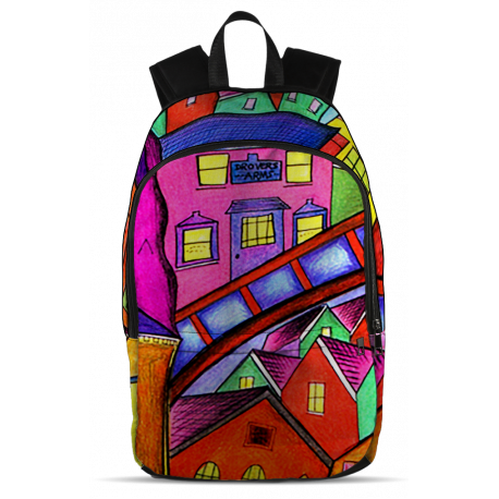 Welsh Village Backpack